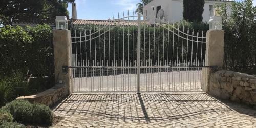 Entrance to Villa Florabella