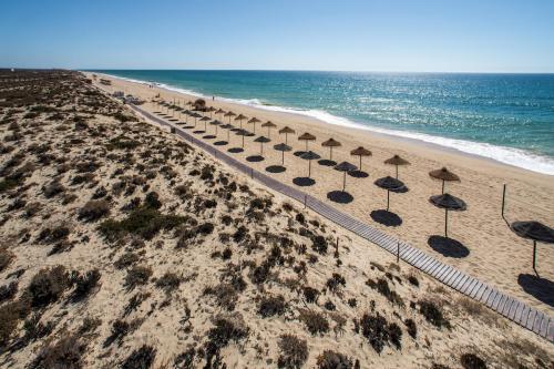 The beach in Ria Formosa, Algarve