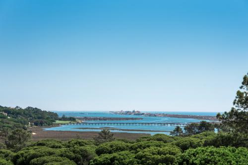 Stunning view of Ria Formosa in Algarve