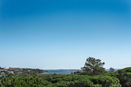 Lovely view of Ria Formosa in Portugal